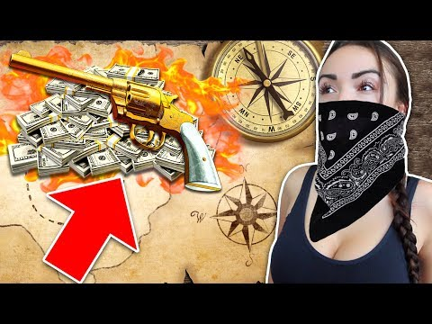 RED DEAD REDEMPTION 2 TREASURE HUNT!! - GTA 5 Doomsday Heist DLC