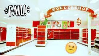 Christmas Shopping at Target... FAIL!!!