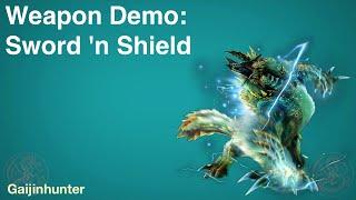 MH4U: Sword and Shield Demo