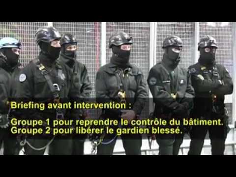 Reportage sur les ERIS - Equipes Régionales d'Intervention et de Sécurité de la pénitentiaire !