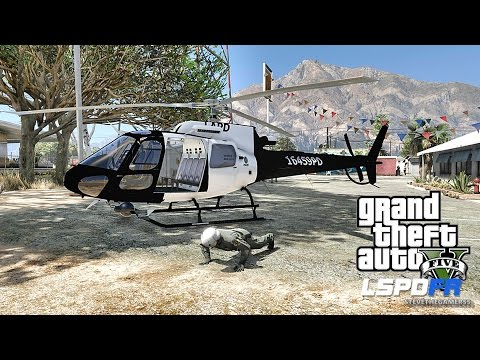 GTA 5 LSPDFR 0.3.1 - EPiSODE 303  - LET'S BE COPS - AIR ONE PATROL (GTA 5 LSPDFR) WORST AIR SUPPORT