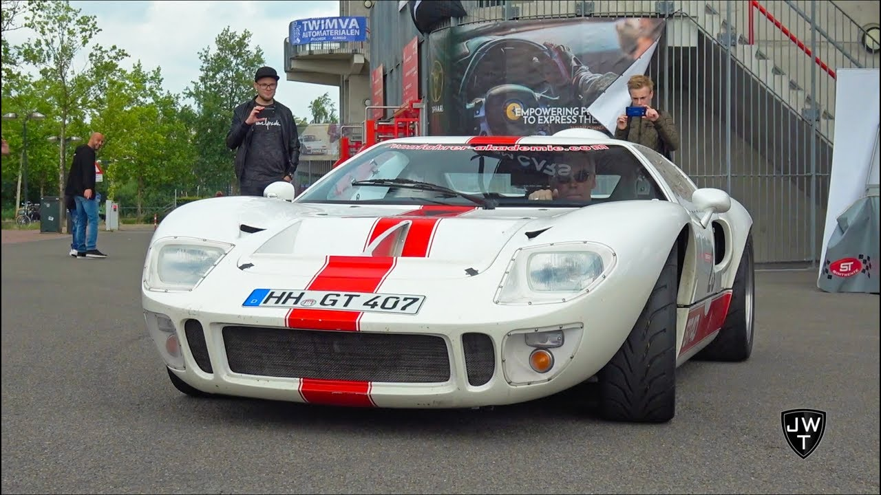 INSANE Rare Classic Ford GT 40! Start-Up, Acceleration & More SOUNDS!