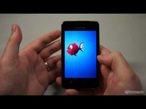 Обзор Samsung Wave M - дисплей