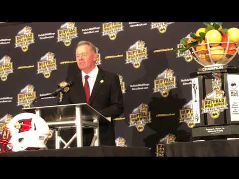 FB: Citrus Bowl Press Conference - Bobby Petrino