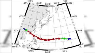 超強颱風山竹2018 路徑圖、氣壓圖、路徑雲圖、衛星雲圖