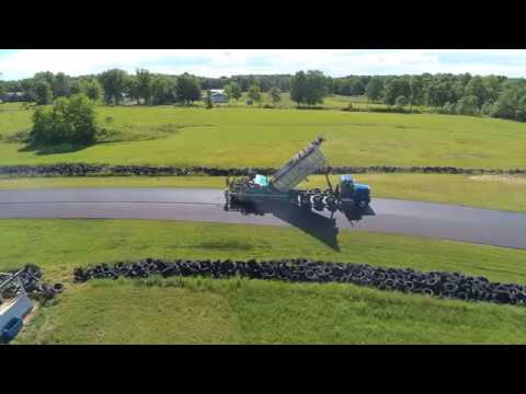 Nelson Ledges race track paving June 2017