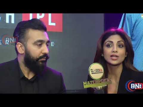 Shilpa Shetty Kundra And Raj Kundra Interview At Indian Poker League (IPL) thumbnail