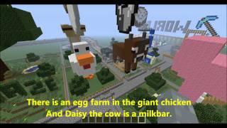 Minecraft themed amusement park - Miners World