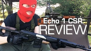 Echo 1 CSR (SVD) Review // Callsign: Reach Airsoft Review