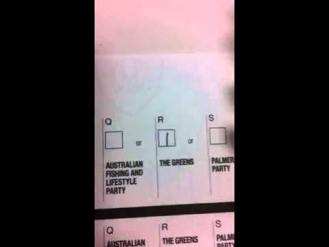 How to vote Green in the Senate in NSW today