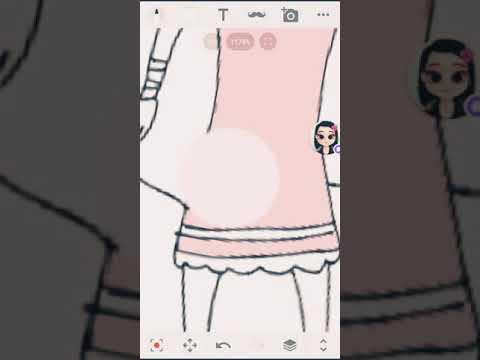 Rysuje Nagisa Momoe