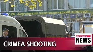 19 killed in Crimea college shooting