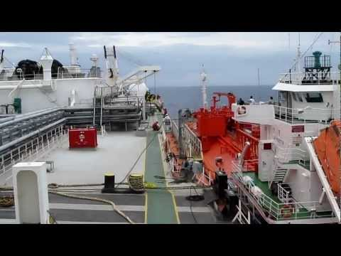LPG Gas Tanker - STS Operations