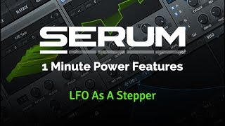 Serum - LFO as a Stepper