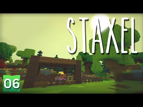 STAXEL 06 | A CHICKEN COOP!! 🐔 | Gameplay