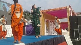 Dance on punjabi songs