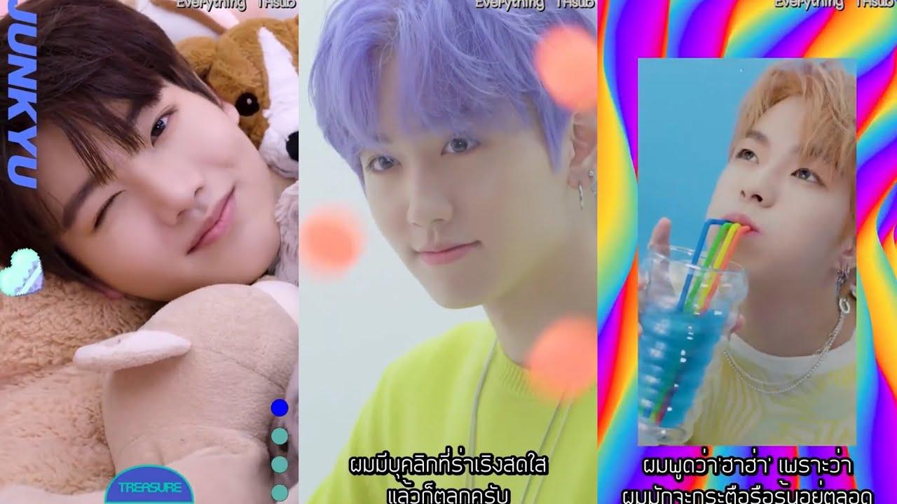 [Thaisub] TREASURE - PR VIDEO [JUNKYU X MASHIHO X YOON JAE HYUK]
