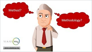 What are the differences between Method and Methodology?