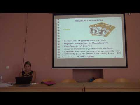 Introduction to geophysical methods-Lecture by Dr.S.Furlani & Dr.S.Biolchi-Training School-McAgenda