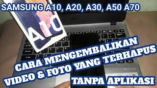 Cara Mengembalikan Foto, Video, Lagu, Aplikasi Yang Dihapus Di HP Samsung Tanpa Aplikasi berisi tuto.