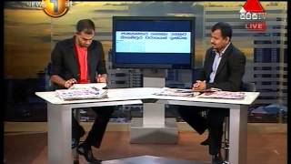 Sirasa Press Release Sirasa TV 31.10.2014