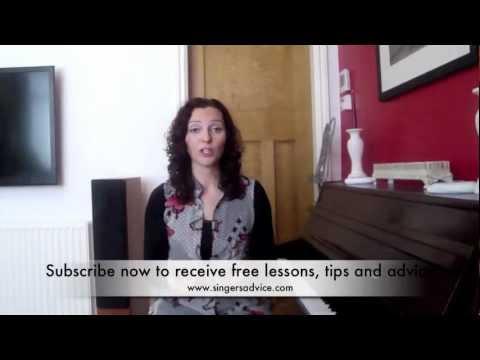 Vocal Technique Diction - Sarah Brickel...