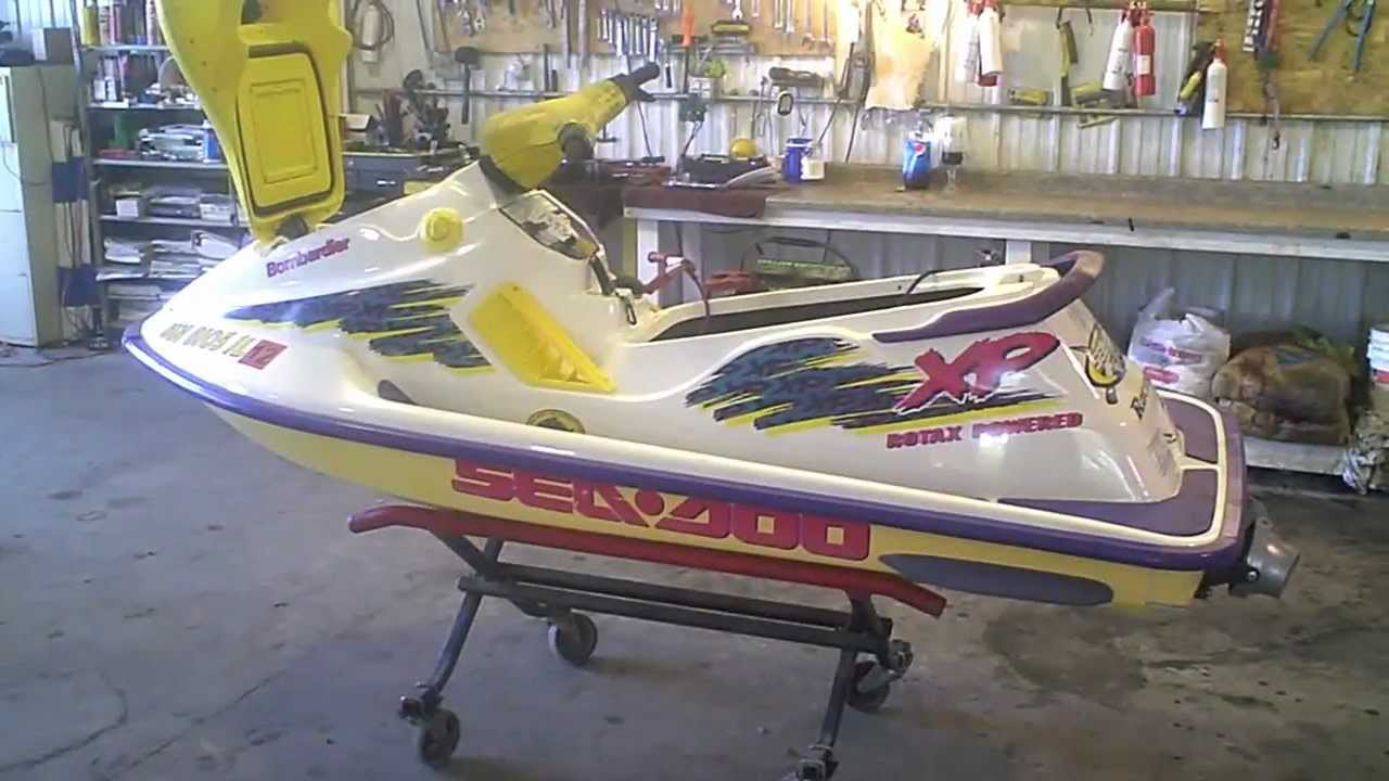 Lot 1393a 1995 Sea Doo Xp 717 720 Running