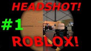 PHANTOM FORCE CZYLI BATTLEFIELD W ROBLOX! PIERWSZE HEADY! (Roblox PL #1)
