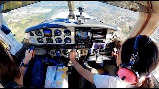 7살 꼬마 아이의 경비행기 조종 | 초딩 부기장 | 비…