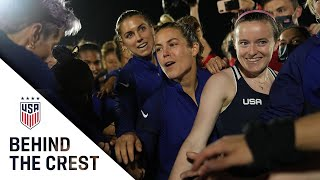 BEHIND THE CREST | USWNT Closes Group Play, Heads to Olympic Quarterfinal