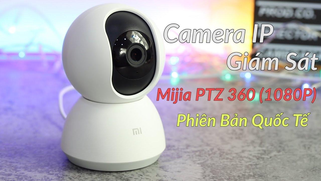 Camera IP Giám Sát Mijia PTZ 360 (1080P) Phiên Bản Quốc Tế