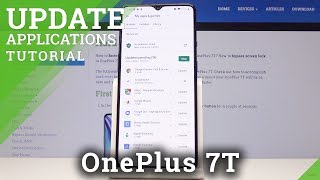 How to Update Apps in OnePlus 7T - Install Latest App Version