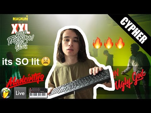 Thumbnail: If I produced the XXL Freshman Cypher (Playboi Carti, Ugly God & MadeinTYO)