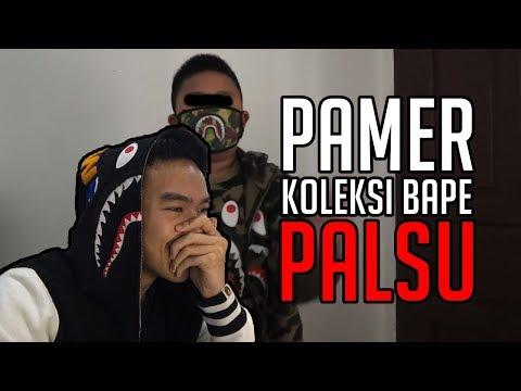 REACTION BOCAH PAMER KOLEKSI BAPE PALSU NGAKU ORI   #HuntingFake