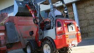Weidemann eHoftrac 1160 im AGRARTECHNIK-Maschinentest