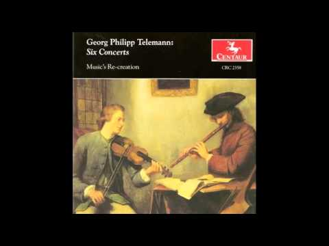 G.P. Telemann: Six Concerts. Concerto in G minor, Vivace. TWV 42:G2: II