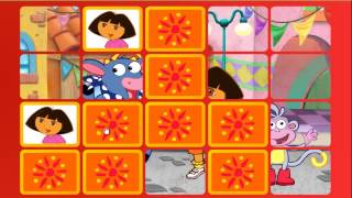 Dora matching game dora the explorer dora explorer