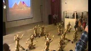 Школа танца Виктории Гофман. египет группа №1