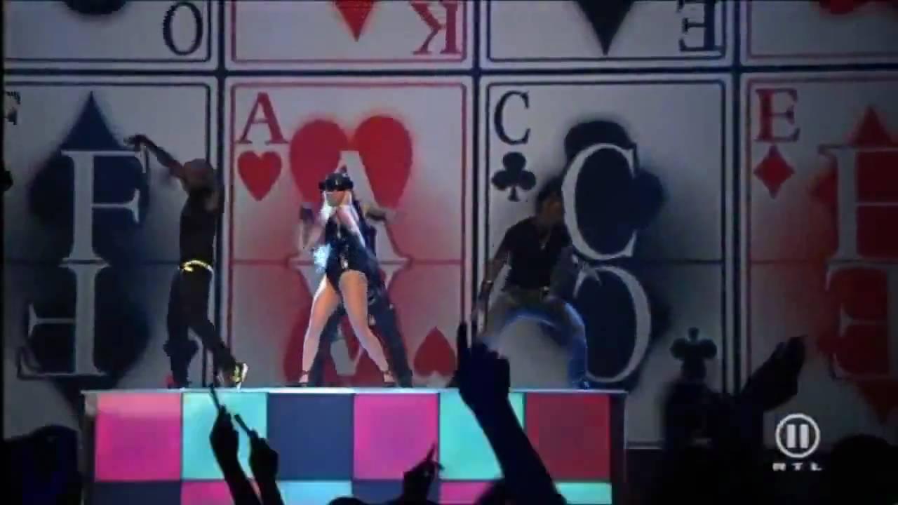 Hd Lady Gaga Poker Face Live Dome 49 720p Youtube