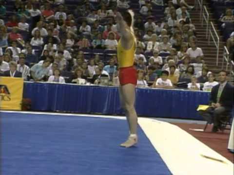 Chang Liang - Floor Exercise - 1994 Hilton Challenge - Men