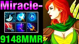 Miracle- WindRanger 9148MMR - ROAD TO 10K MMR - Dota 2