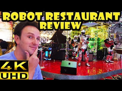 [4K] Tokyo Robot Restaurant Show Review and Highlights