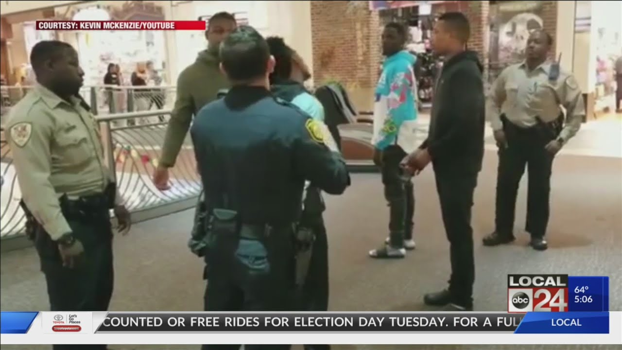 Wolf Chase Galleria Mall Arrest (Hoodie Policy) A Black Teen for Wearing a Hoodie.