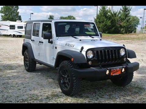 2015 Jeep Wrangler Unlimited Sport Willys Wheeler For Sale Dayton Troy ...