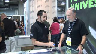 SOG Knives Interview at SHOT Show Las Vegas 2011