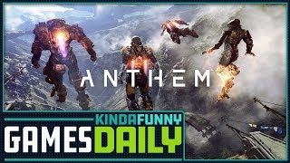 Anthem Likely Delayed To 2019 - Kinda Funny Games Daily 01.24.18