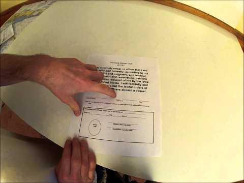 Oath form