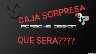PORSCHE me envia una CAJA SORPRESA!!! UNBOX