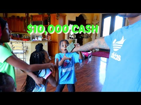 I GAVE MY SON $10,000 FOR HIS 10TH BIRTHDAY & PUT A BOXING RING IN MY BACKYARD!