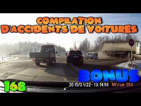 compilation d 39 accident de voiture n 168 bonus car crash compilation 168 youtube. Black Bedroom Furniture Sets. Home Design Ideas